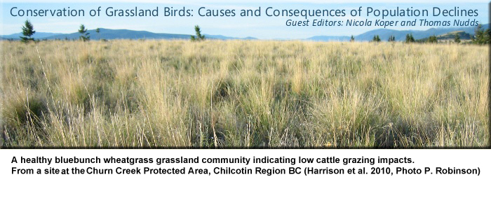 Conservation of Grassland Birds: Causes and Consequences of Population Declines