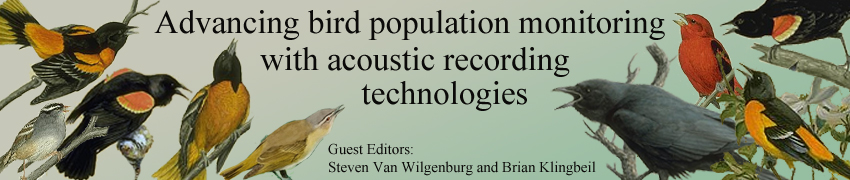 Advancing bird population monitoring with acoustic recording technologies